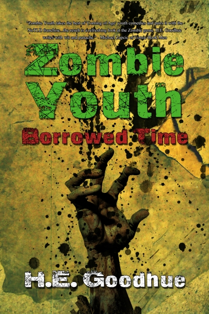 """""""Zombie Youth takes the best of 'Coming of Age' youth comedies and pairs it with the NoTLD franchise...the result is a refreshing look at the Zombie genre. H.E. Goodhue writes with wit and panache.""""  Michael Zapcic of Comic Book Men"""